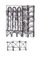 Arch facade study